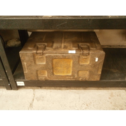 45 - Vintage ammo box dated 1942...