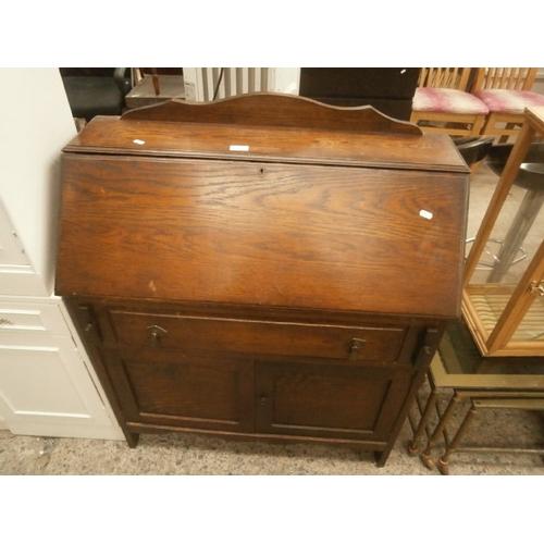 633 - Vintage fall front bureau...