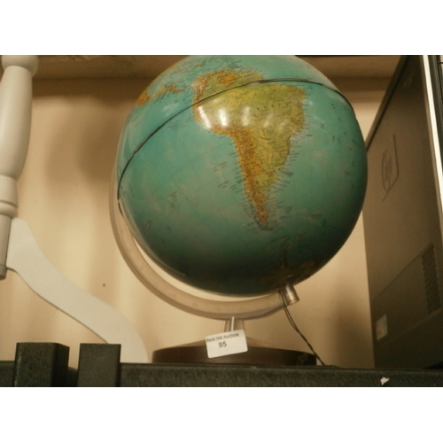 95 - Plastic globe...