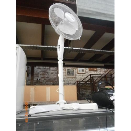 2 - Floor standing fan working order...