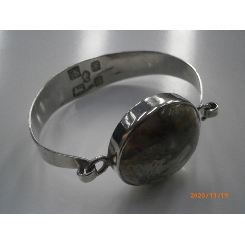 241 - Decorative Hallmarked silver bracelet...