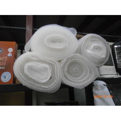 26 - Four rolls of bubble wrap...