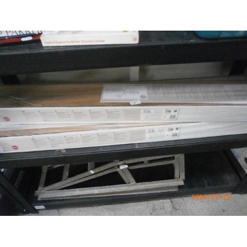 40 - Three packs of laminate flooring...
