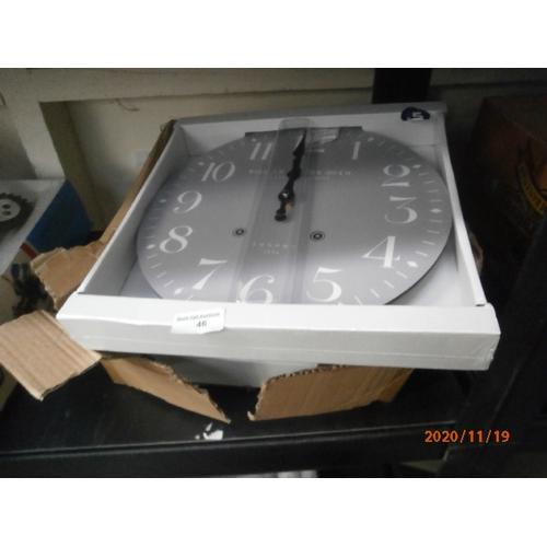 46 - Three new clocks...