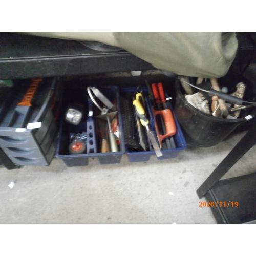 55 - Lot inc tools, tool carry cases, etc...