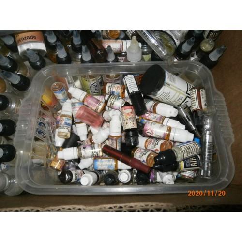 106 - Box of e-cig liquids...