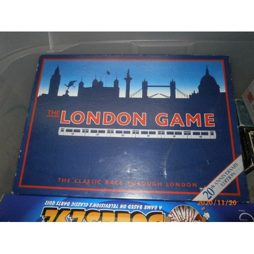 118 - Two boxes of games...