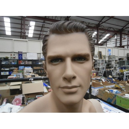141 - Full size adult mannequin with extra parts...