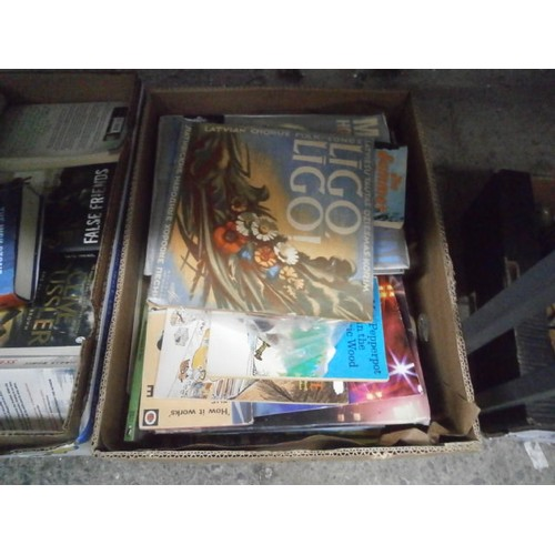 274 - Three boxes of various books...