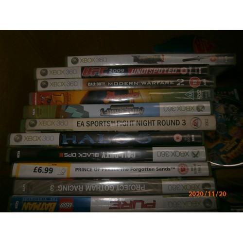53 - Bpox of Xbox 360 games...