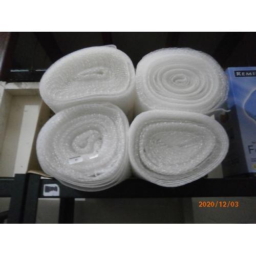 41 - 4 good rolls of bubble wrap...