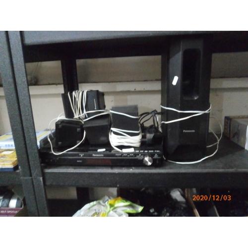 54 - Panasonic surround sound system stuck on standby...