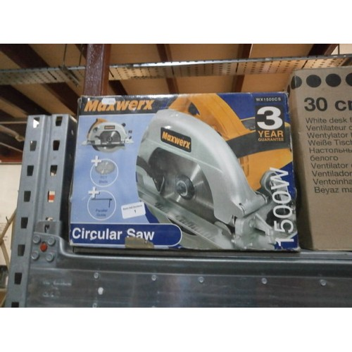 1 - Maxwerx circular saw working...