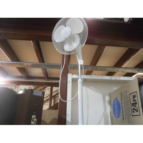 33 - Tall stand fan working...