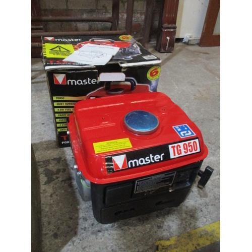 1006 - Master TG950 Portable generator