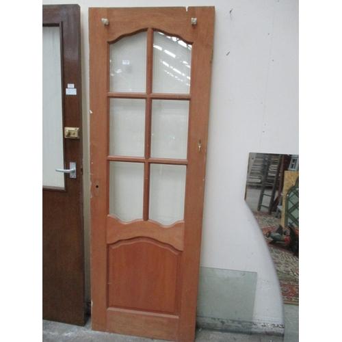 1026 - Glazed door 27 x 78 inch...