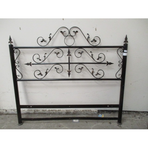 1032 - Wrought iron panel / bed head