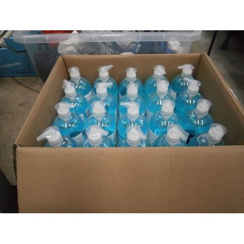 59 - Box of Relisan alcohol hand gel, 20 500ml bottles per box