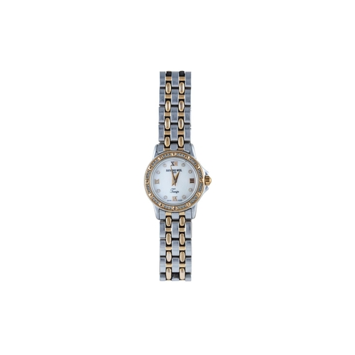 30 - A LADIES RAYMOND WEIL WRIST WATCH, boxed...