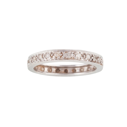 5 - A DIAMOND ETERNITY RING...