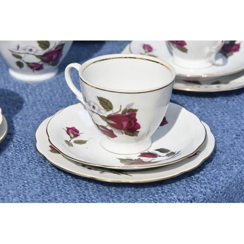 4 - 21 PIECE CHINA TEA SET