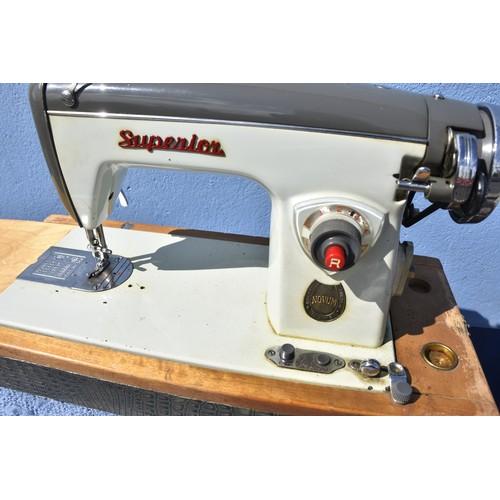 68 - A SUPERIOR SEWING MACHINE