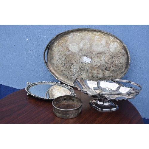 110 - SILVER PLATED WARE