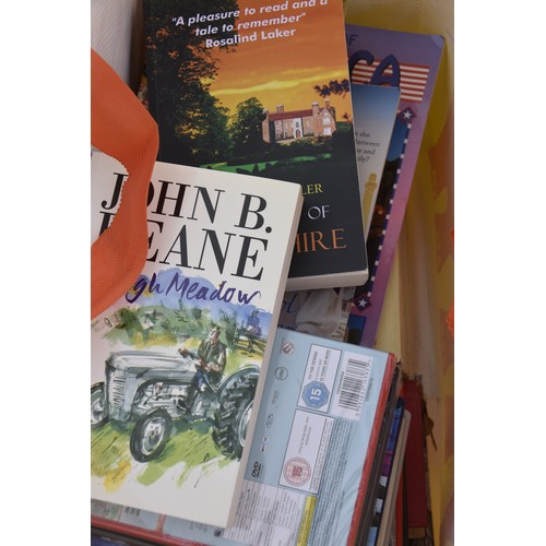 178 - 4 BAGS OF ASSORTED BOOKS