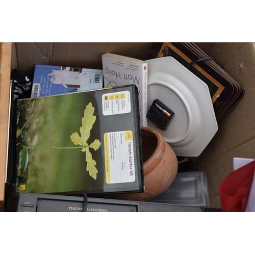 51 - A QUANTITY OF ASSORTED POTTERY ETC IN BOXES