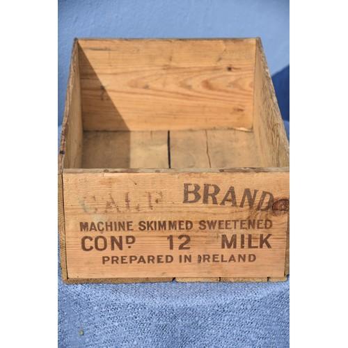 189 - A PINE BOX CONDENSED MILK Co IRELAND