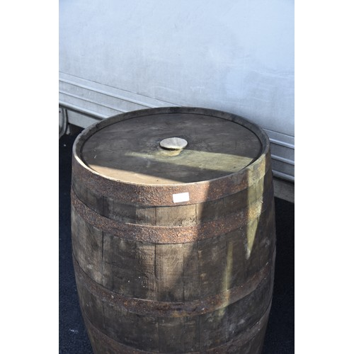 197 - OLD WHISKEY BARRELL