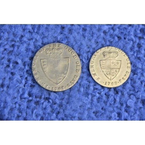 215 - 2 VICTORIAN GAMING TOKENS