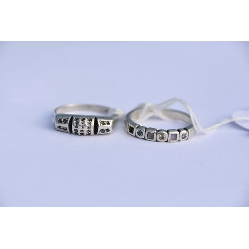 231 - A SILVER RINGS