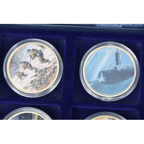 240 - 5 CASED COINS