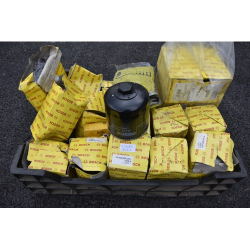 273 - BOX OF NEW BOSCH OIL FILTERS