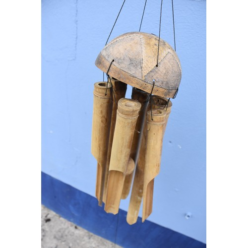 362 - COCONUT WIND CHIMES
