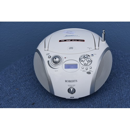 391 - A ZOOMBOX CD PLAYER