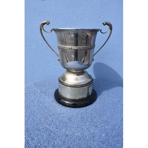417 - A CELTIC DESIGN TROPHY THE MARTINI CUP FOR THE VINTNERS ASSOCIATION