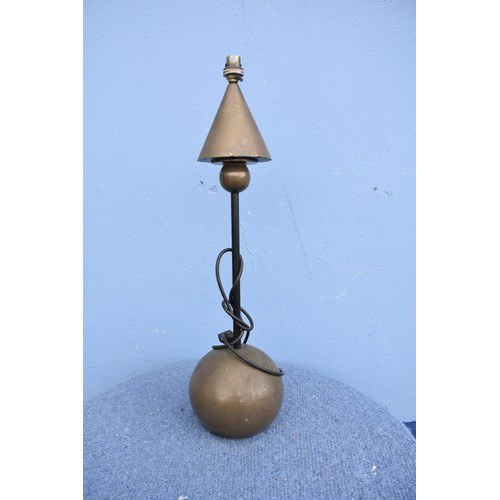434 - RETRO COPPER LAMP HEIGHT 24
