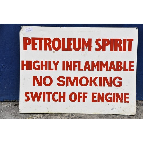 460 - GARAGE FORECOURT SIGN 24X18