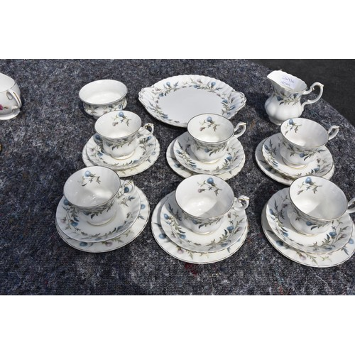 480 - 21 PIECE ROYAL ABERT TEA SERVICE BRIGADOON