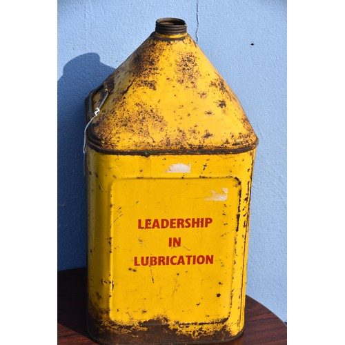 503 - SHELL TRACTOR LUBRICANT OIL CAN