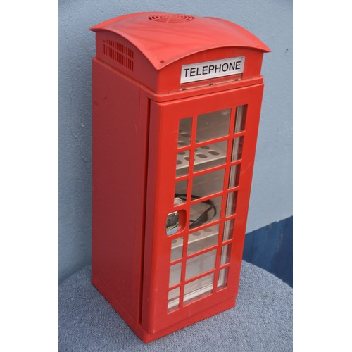 510 - RED PHONE BOX COOLER/HEATER 24