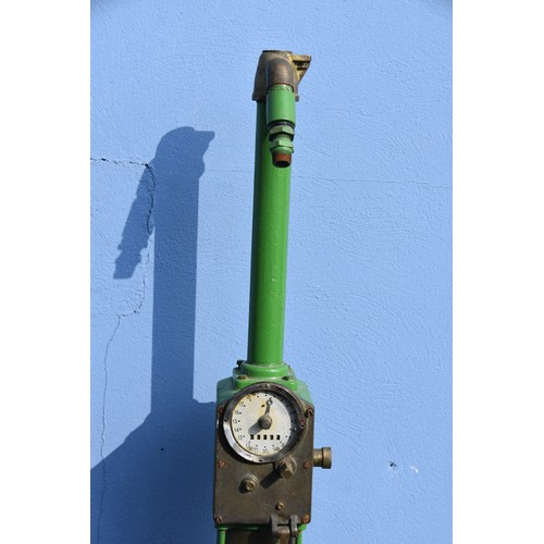 595 - 1930'S CHI SKELETON PETROL PUMP BY BP UNDER LICENCE