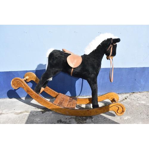 150 - CHILDS ROCKING HORSE