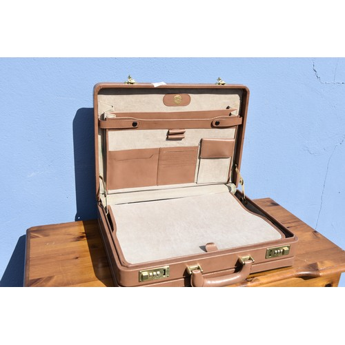 459 - LEATHER BRIEFCASE