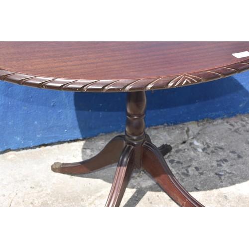 50 - MAHOGANY PEDESTAL TABLE