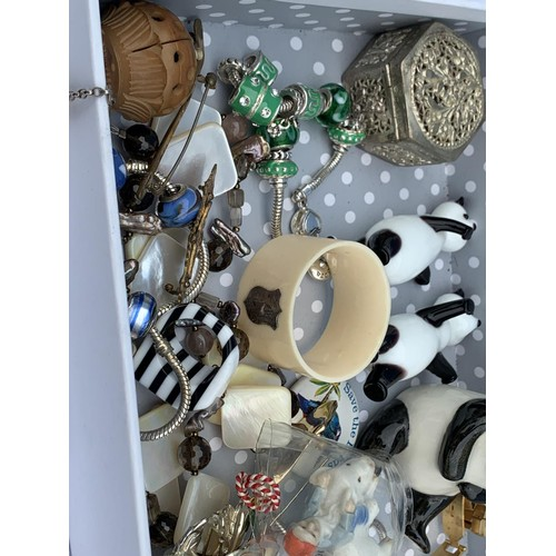 56 - A BOX OF COLLECTABLES