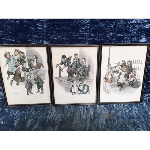 10 - 3 Ronald Embleton prints...