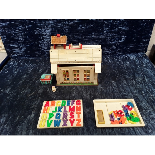 39 - Fisher-Price play family school and accessories...